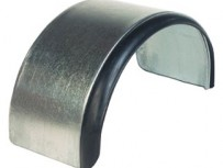 Steel Mudguards – Rubber Edged
