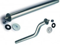 Stainless Steel Mudguard Mounting Arms – Single Bolt – Straight/Cranked